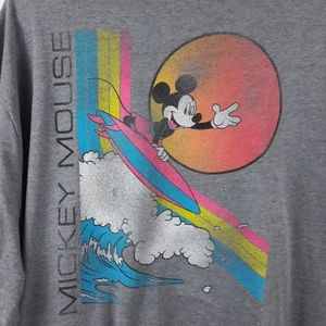 NWT Old Navy Disney Mickey Mouse Surfing Shirt